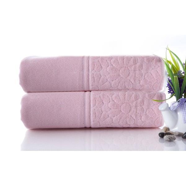 Set dvoch uterákov Samba Pink, 50x90 cm