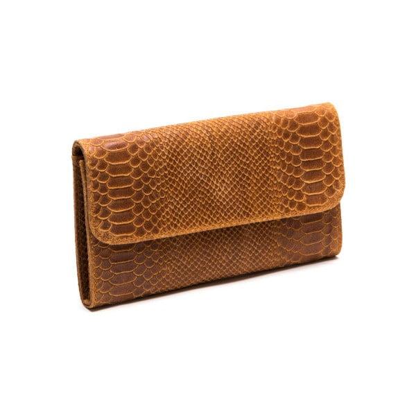 Kožená kabelka Isabella Rhea 8018 Cognac