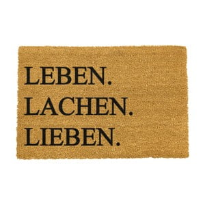 Rohožka Artsy Doormats Leben Lachen Liben, 40 × 60 cm