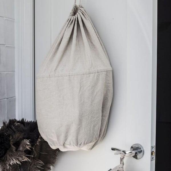 Vak na prádlo Chambray Taupe