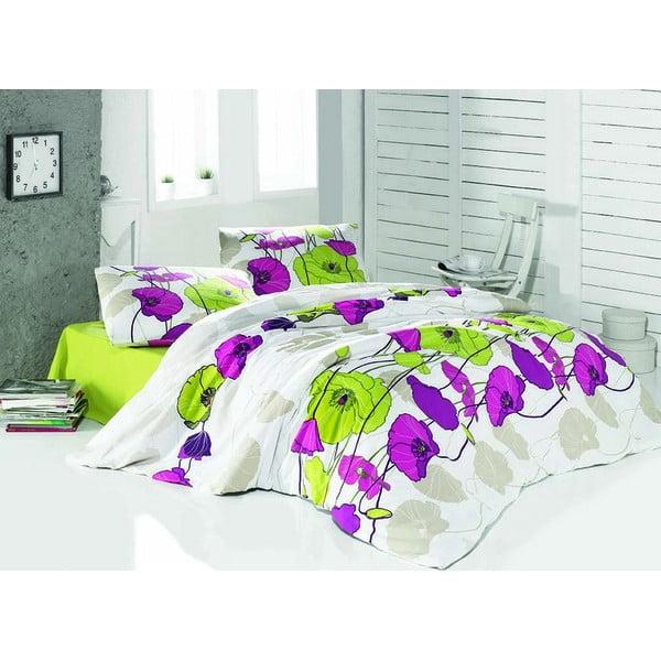 Obliečky s plachtou Violeth, 200x220 cm