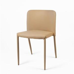 Jedálenská stolička Lilia, béžová