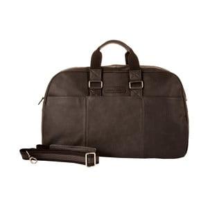 Pánska cestovná taška Vintage Overnight Black