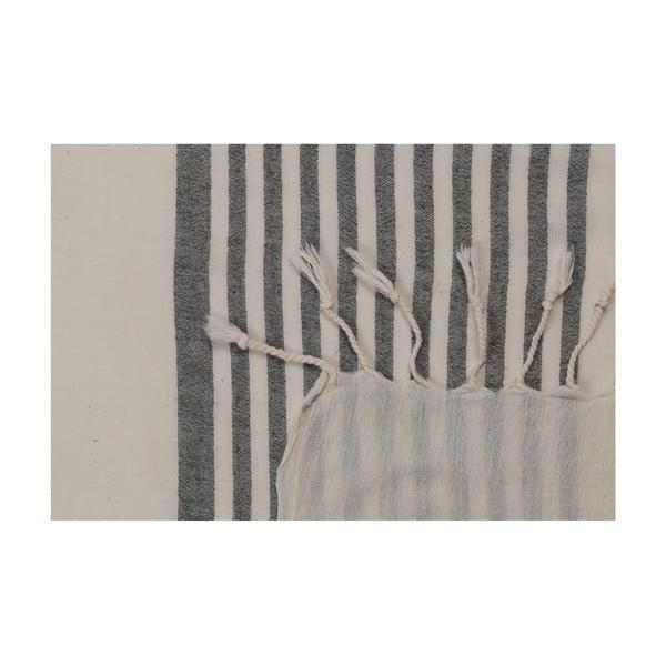 Čierno-biely uterák, 170 x 90 cm