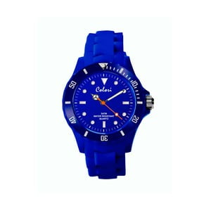 Hodinky Colori 36 White Index Blue