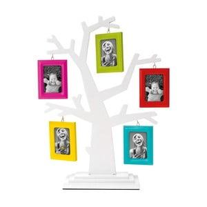 Fotorámček na 5 fotografií Family Tree