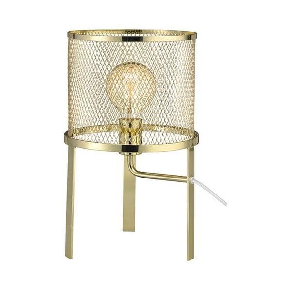 Zlatá stolová lampa Markslöjd Grid