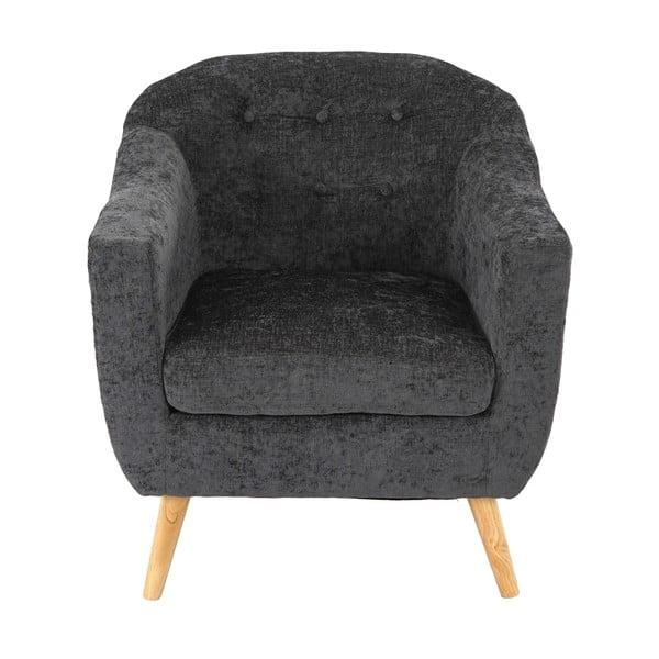 Kreslo Vaasa Relaxing Grey, sivý textilný poťah