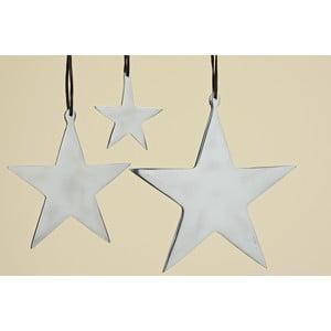 Sada 3 závesných hviezd Boltze Star