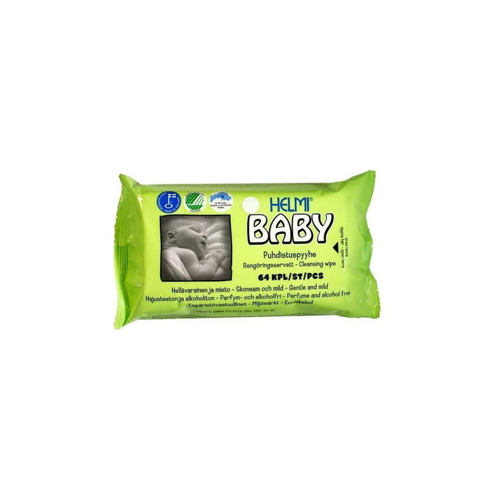 Detské vlhčené utierky Helmi Baby, 64 kusov