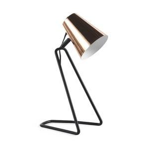 Stolová lampa v medenej farbe Geese Line