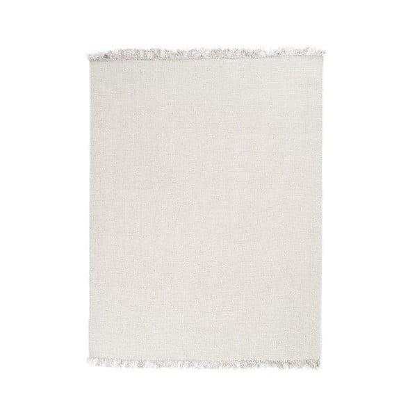Vlnený koberec Rainbow White, 200x300 cm