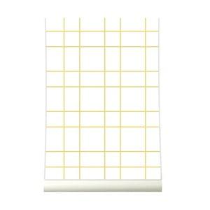 Tapeta Grid Yellow