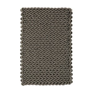 Vlnený koberec Helix Grey, 120x170 cm