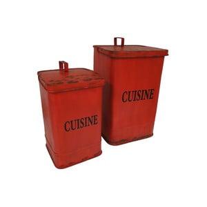 Sada 2 odpadkových košov Antic Line Cuisine