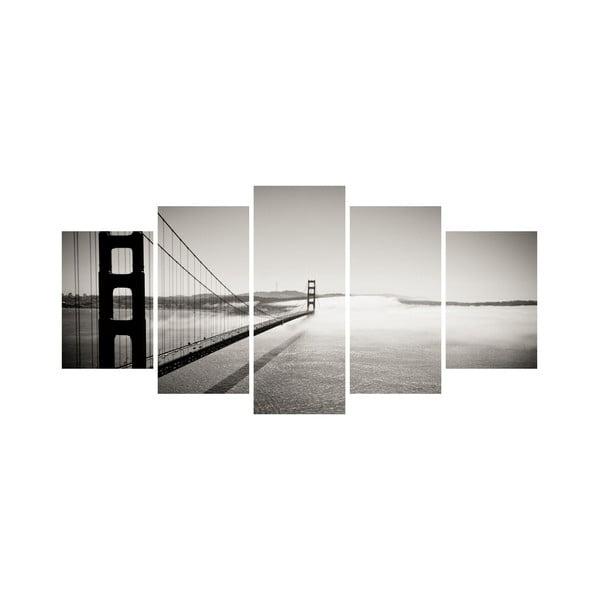 Viacdielny obraz Black&White no. 20, 100x50 cm