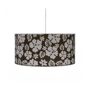 Čierne stropné svietidlo Creative Lightings Flower