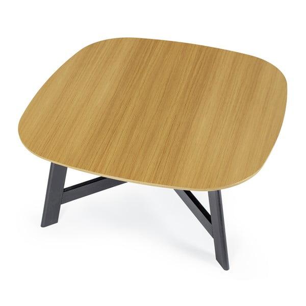 Konferenčný stolík s doskou z dubového dreva Askala Keeni, dĺžka80cm