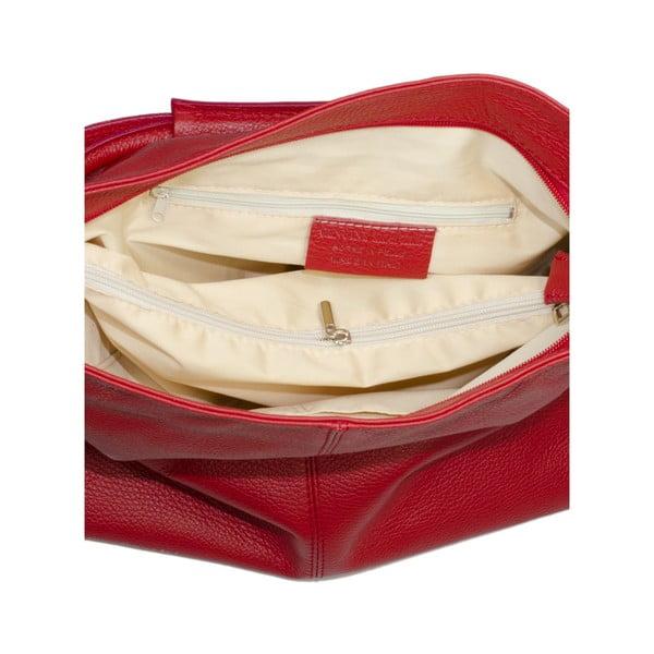 Kožená kabelka Markese 5008 Red