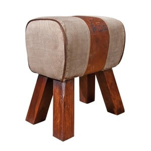 Stolička s koženými detailmi 13Casa Industry