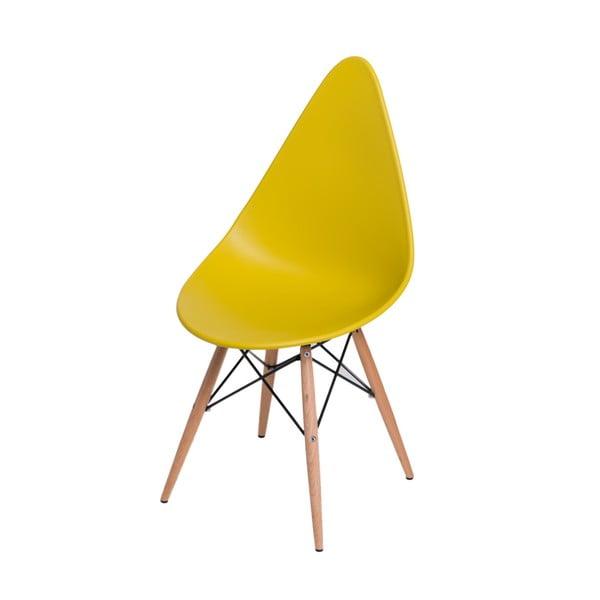 Sada 2 stoličiek D2 Rush DWS, žluté