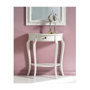 Biely drevený konzolový stolík Castagnetti Annat