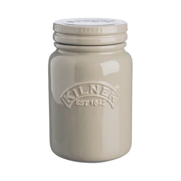 Keramická dóza Kilner Cream, 0,6l