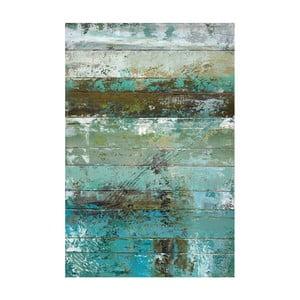 Obraz na plátne Marmont Hill Aqua Wood, 61×41 cm