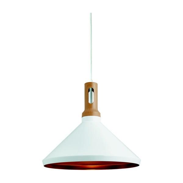 Stropné svietidlo Searchlight Cone biela