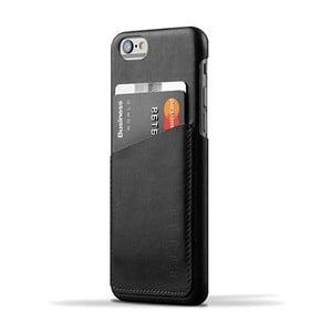 Peňaženkový obal Mujjo Case na telefón iPhone 6 Black