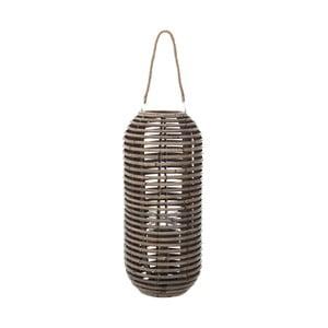 Závesný lampáš z ratanového dreva InArt Lantern, ⌀ 28 cm