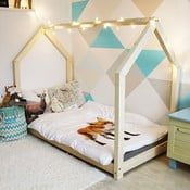 Detská posteľ z borovicového dreva Benlemi Tery, 120 x 200 cm