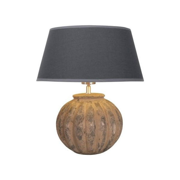 Stolná lampa Carlton Earth/Anthrazit