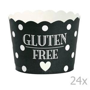 Sada 24 košíčkov na pečenie Miss Étoile Glutén Free