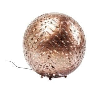 Stojacia lampa v medenej farbe Kare Design Stardust