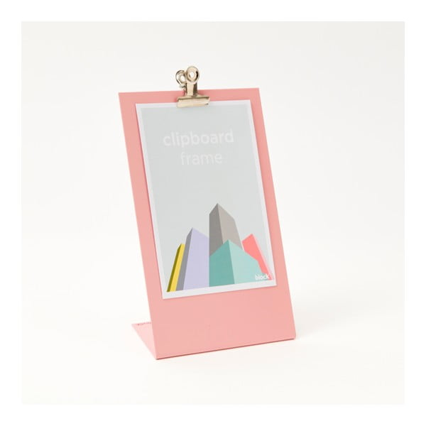 Ružový rámik na fotku Clipboard Medium