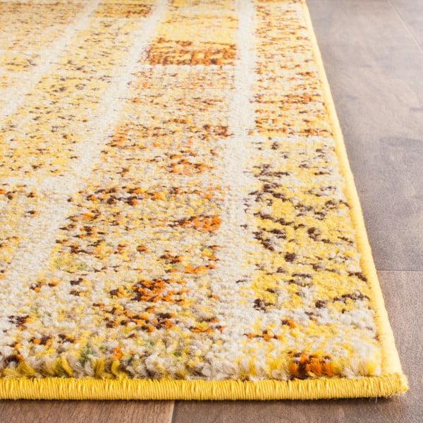 Žltý koberec Safavieh Effi, 121 x 170 cm