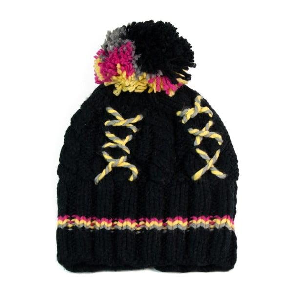 Čierna čiapka Freddie