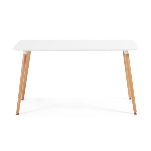 Jedálenský stôl z bukového dreva La Forma Daw, 80 x 140 cm