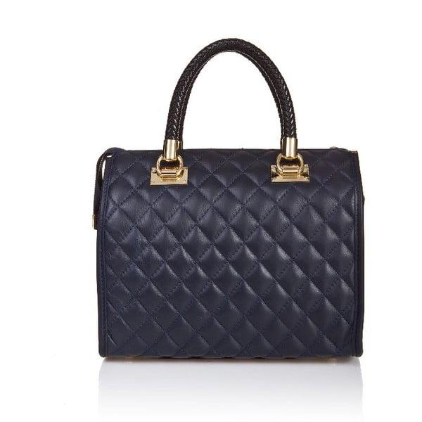 Kožená kabelka Quilted Blue