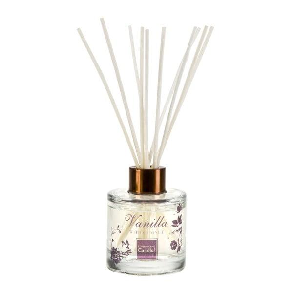 Aromatický difuzér Copenhagen Candles Vanilla & Coconut Reed, 100 ml
