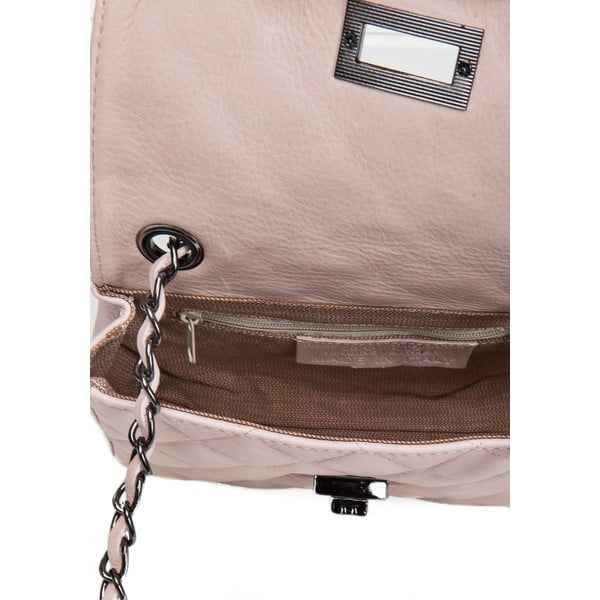 Kožená kabelka Markese 6997 Rose