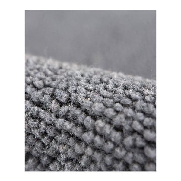 Vlnený koberec Tatoo 110 Gris, 67x200 cm