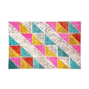 Vlnený koberec Allmode Sivas Multi I, 150x80 cm