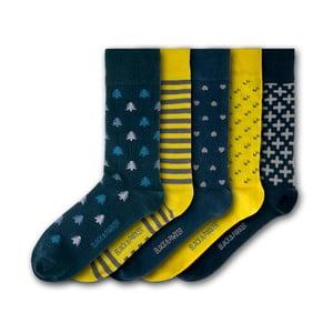 Sada 5 ponožiek Black&Parker London Chiswell Walled Garden, veľkosť 37 – 43