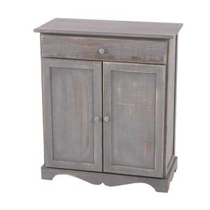Komoda Shabby Chic Grey, 33x66x78 cm