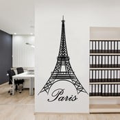 Samolepka na stenu Eiffel