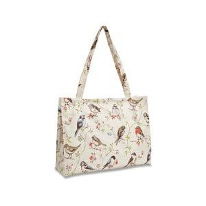 Nákupná taška na rameno z bavlny Cooksmart England Dawn Chorus, 40×30cm