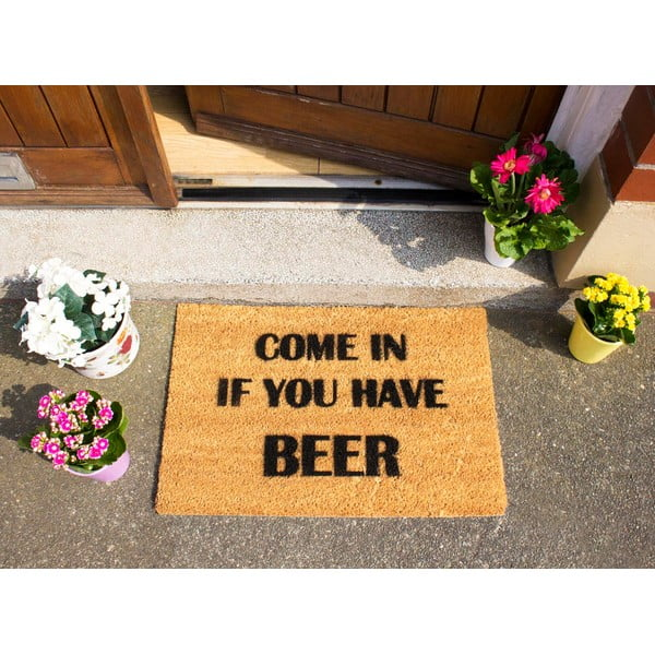 Rohožka Artsy Doormats Come Again and Bring Beer, 40x60cm