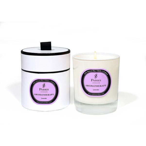 Sviečka s vôňou levandule Parks Candles London Aromatherapy, 45hodín horenia